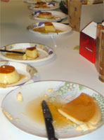 Flan-Off!   by Emi, Lisa, & Linh